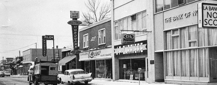 Montreal Road, 1960