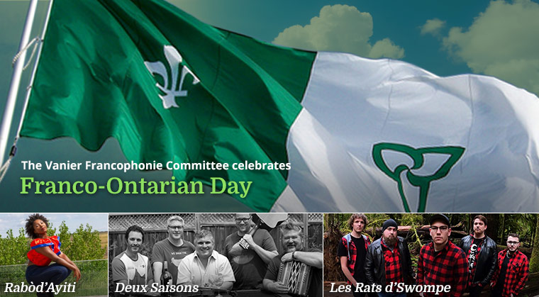 The Vanier Fancophonie Committee celebrates Franco-Ontarian Day